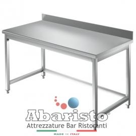 PROF.60: tavolo su gambe senza ripiano c/alzatina