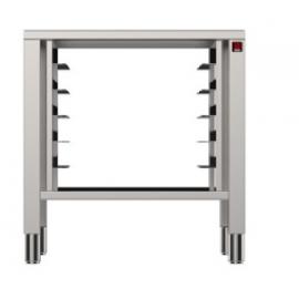 TAVOLO FISSO IN AISI 430 PER FORNI ELETTRICI DA 4 TEGLIE(429x345mm, 480x340mm) E 5 TEGLIE(2/3GN 354X325mm)