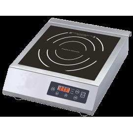Piastra a induzione 3,5 Kw diametro calore 28,5 cm