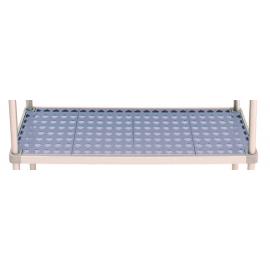 Riapiano antibatterico per scaffale profondità 40 cm