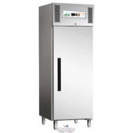 ARMADIO FRIGORIFERO CONGELATORE BASIC ventilato 1 porta interamente in acciaio inox AISI430 temp.-18/-22°C cap.600 lt.