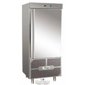 ABBATTITORE DI TEMPERATURA cap.14 teglie GN1/1-EU60/40 in acciaio inox 18/10 AISI304 +90°/+3°C +90°C/-18°C