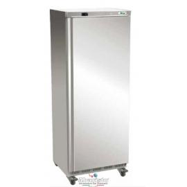 ARMADIO REFRIGERATO ventilato 1 porta con struttura esterna in acciaio inox temp.-2/+8°C cap.650 lt.