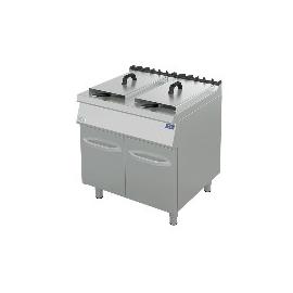 Friggitrice gas 1 vasca 80x90x90 cm
