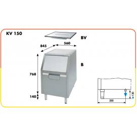 Contenitore ghiaccio da 100 kg per KV150