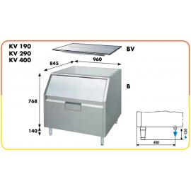 Contenitore ghiaccio da 150 kg per i KV 150, 190, 290 e 400