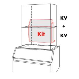 Accessorio sovrapposizione moduli per KV 150, 190, 290 e 400
