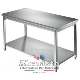 PROF.70: tavolo aperto con ripiano