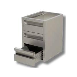 cassettiera 3 cassetti  per tavoli prof. 70