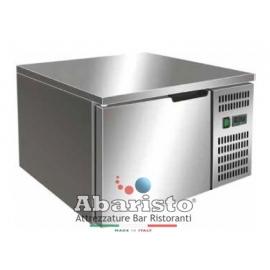ABBATTITORE DI TEMPERATURA in acciaio inox 18/10 AISI304 +90°/+3°C +90°C/-18°C cap.3 teglie GN2/3