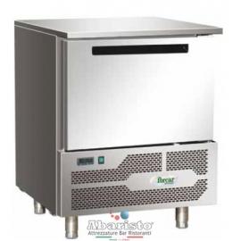 ABBATTITORE DI TEMPERATURA in acciaio inox 18/10 AISI304 +70°/+3°C +70°C/-18°C cap.3 teglie GN2/3