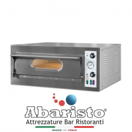 FORNO ELETTRICO PER PIZZA START6 1 CAMERA interamente in acciaio inox
