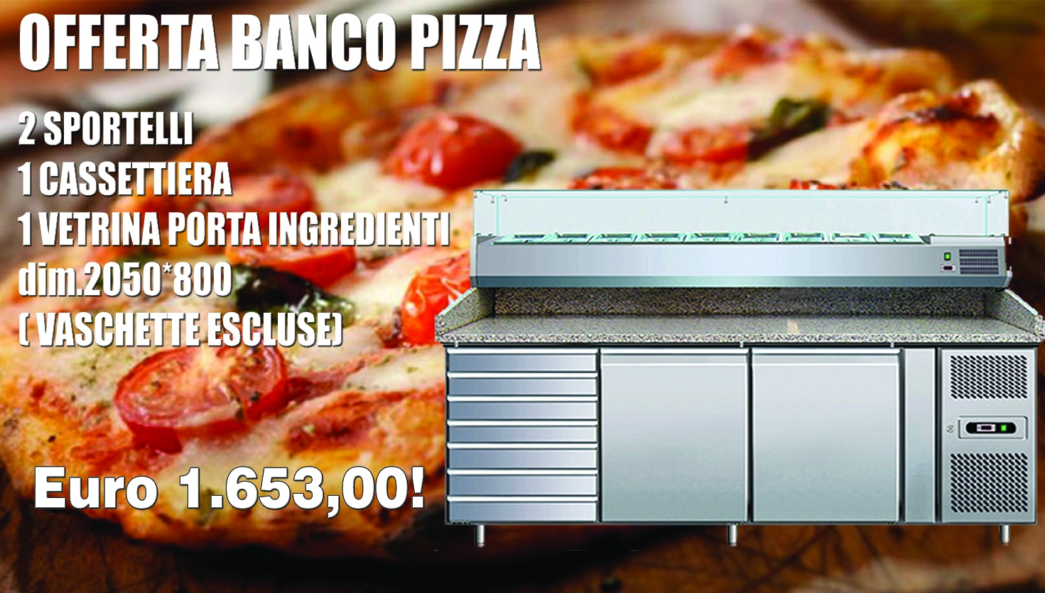 banco pizza completo