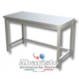 PROF.70: tavolo su gambe senza ripiano s/alzatina