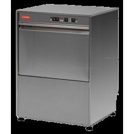 LAVASTOVIGLIE ANALOGICA 2 cicli di lavaggio con cesto 50x50 interamente in acciaio inox AISI304