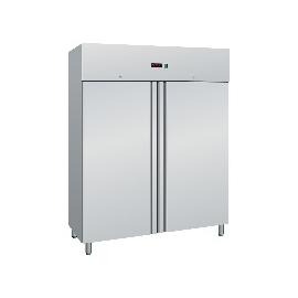 ARMADIO REFRIGERATO SNACK ventilato 2 porte interamente in acciaio inox temp.-2/+8°C cap.1300 lt.