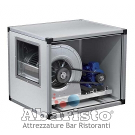 ECTD 9/9 A2: ventilatore centrifugo cassonato a trasmissione a 2 velocità