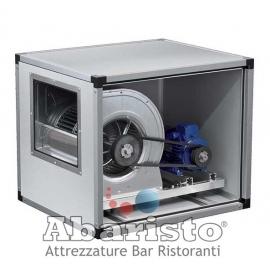 ECTD 9/9 B2: ventilatore centrifugo cassonato a trasmissione a 2 velocità