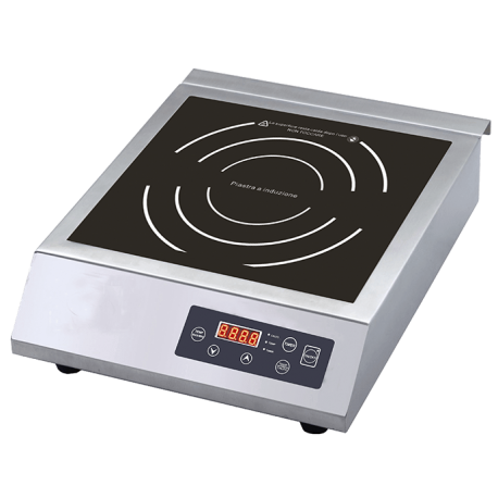 Piastra a induzione 3,5 Kw  Ø calore 285mm