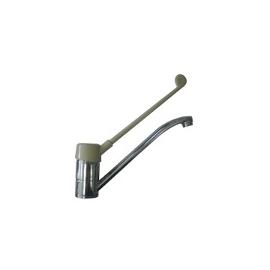 Miscelatore lavello Industriale canna lunga cm 30 e leva in plastica cm. 30