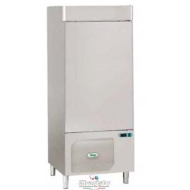 ABBATTITORE DI TEMPERATURA in acciaio inox 18/10 AISI304 +90°/+3°C +90°C/-18°C cap.14 teglie GN1/1-600x400 -PRODOTTO ITALIANO-