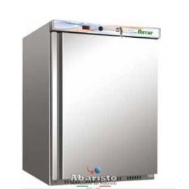 ARMADIO REFRIGERATO CONGELATORE statico 1 porta con struttura esterna in acciaio inox temp.-18/-22°C cap.200 lt.