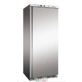 ARMADIO REFRIGERATO statico 1 porta con struttura esterna in acciaio inox temp.+2/+8°C cap.570 lt.