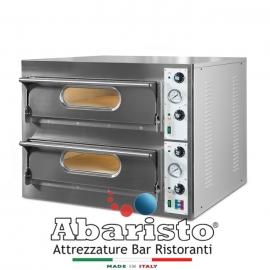FORNO ELETTRICO PER PIZZA START66 2 CAMERE interamente in acciaio inox