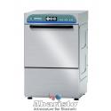 LAVABICCHIERI- LAVASTOVIGLIE ANALOGICA monofase 1 ciclo di lavaggio con cesto 40X40 - acciaio inox AISI304 -
