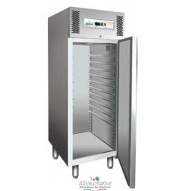ARMADIO FRIGORIFERO CONGELATORE PASTICCERIA ventilato 1 porta tutto in acciaio inox 18/10 AISI304 temp.-18/-22°C cap.650 lt.