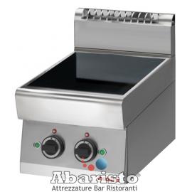 CUCINA ELETTRICA AD INDUZIONE 2 PIASTRE interamente in acciaio inox AISI304 TOP
