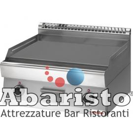 FRY TOP ELETTRICO PIASTRA LISCIA interamente in acciaio inox AISI304 TOP
